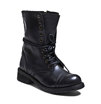 "Steve Madden ""Troopa 2.0"" Casual Lace-Up Boots"