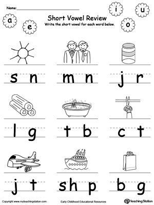 Resultado de imagen para activities with short vowels