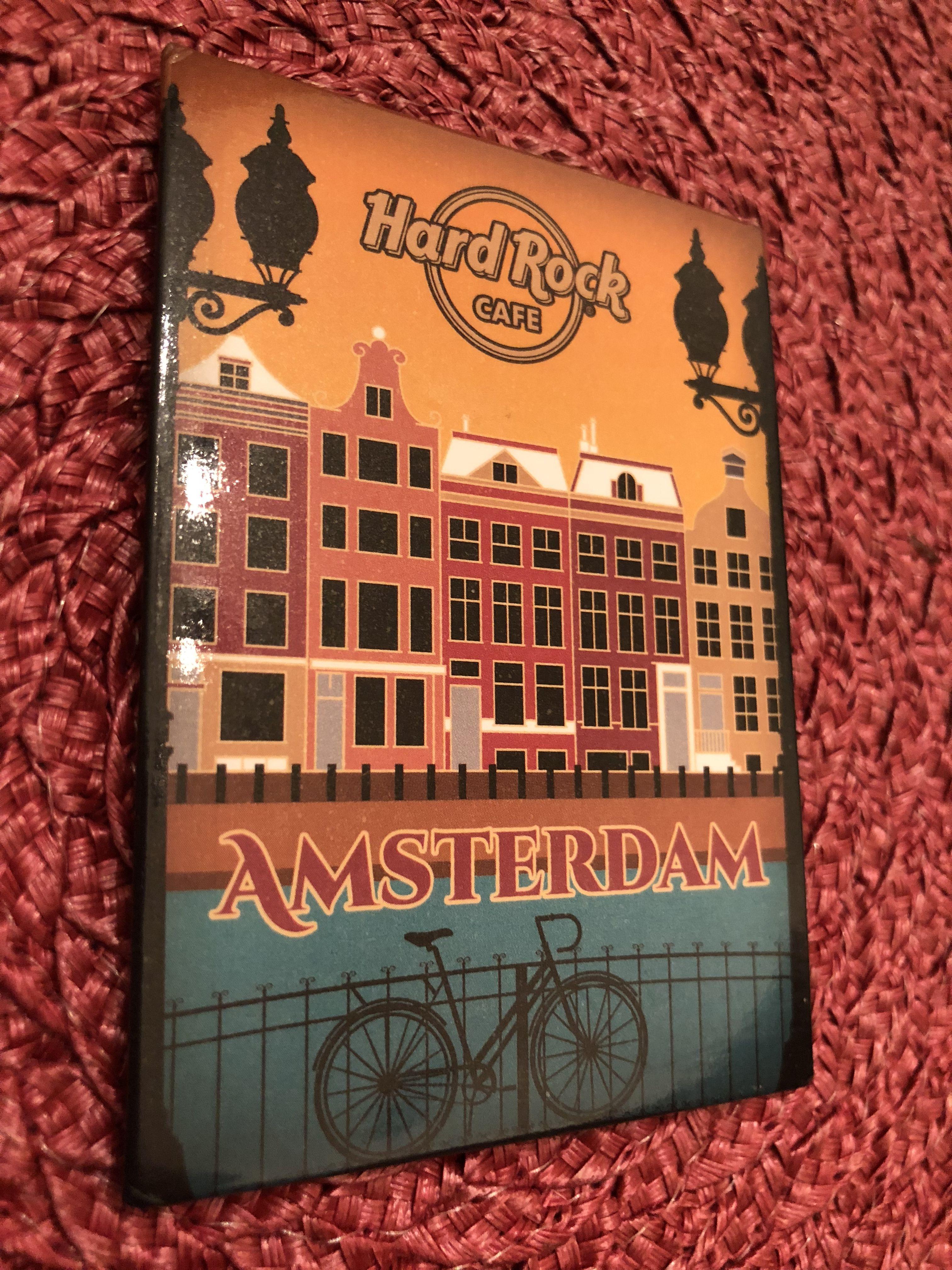 Hard Rock Cafe Amsterdam Magnet
