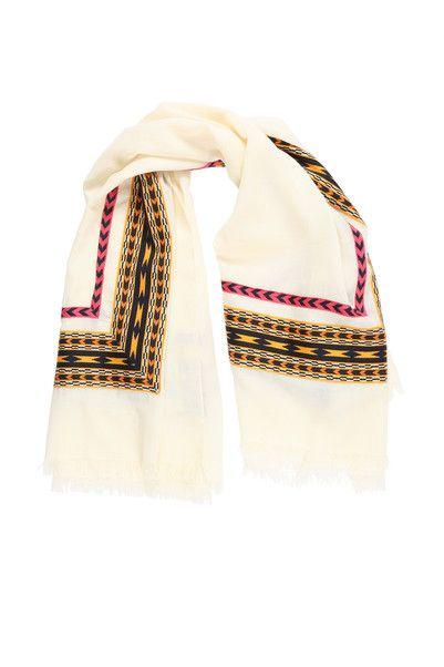 Foulard beige détail ethnique Chloe Kookaï sur MonShowroom.com ... 91ad297ebe2
