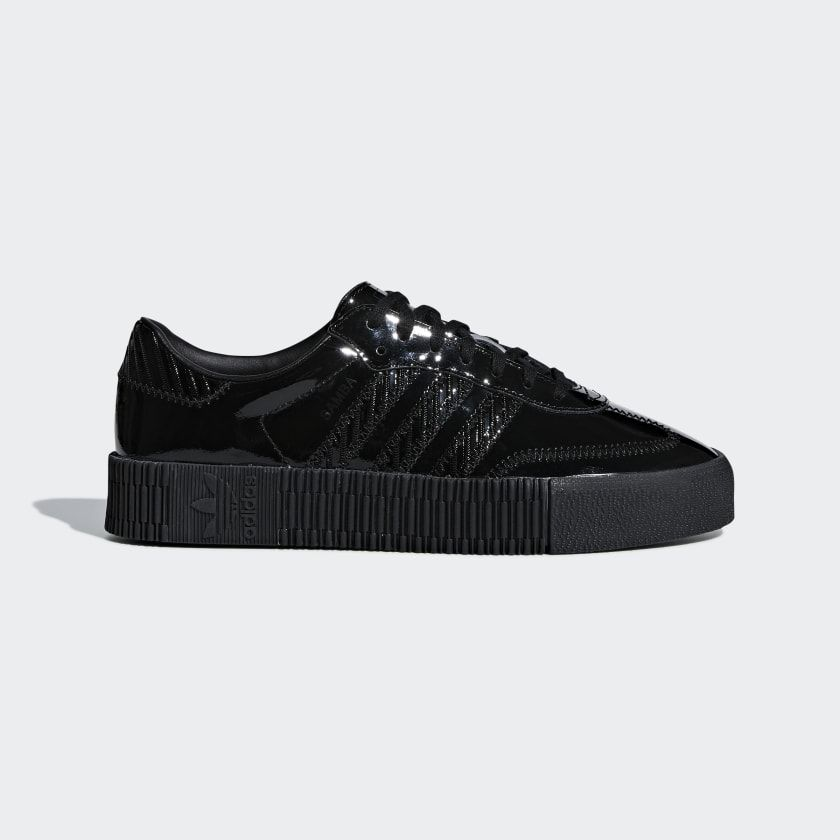 SAMBAROSE Shoes | Black shoes, Adidas sneakers women, Black ...