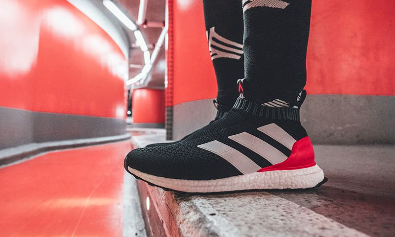 Adidas S New Ace 16 Ultra Boost Looks Like A Retro Predator Red Adidas Mens Fashion Casual Shoes Adidas Boots