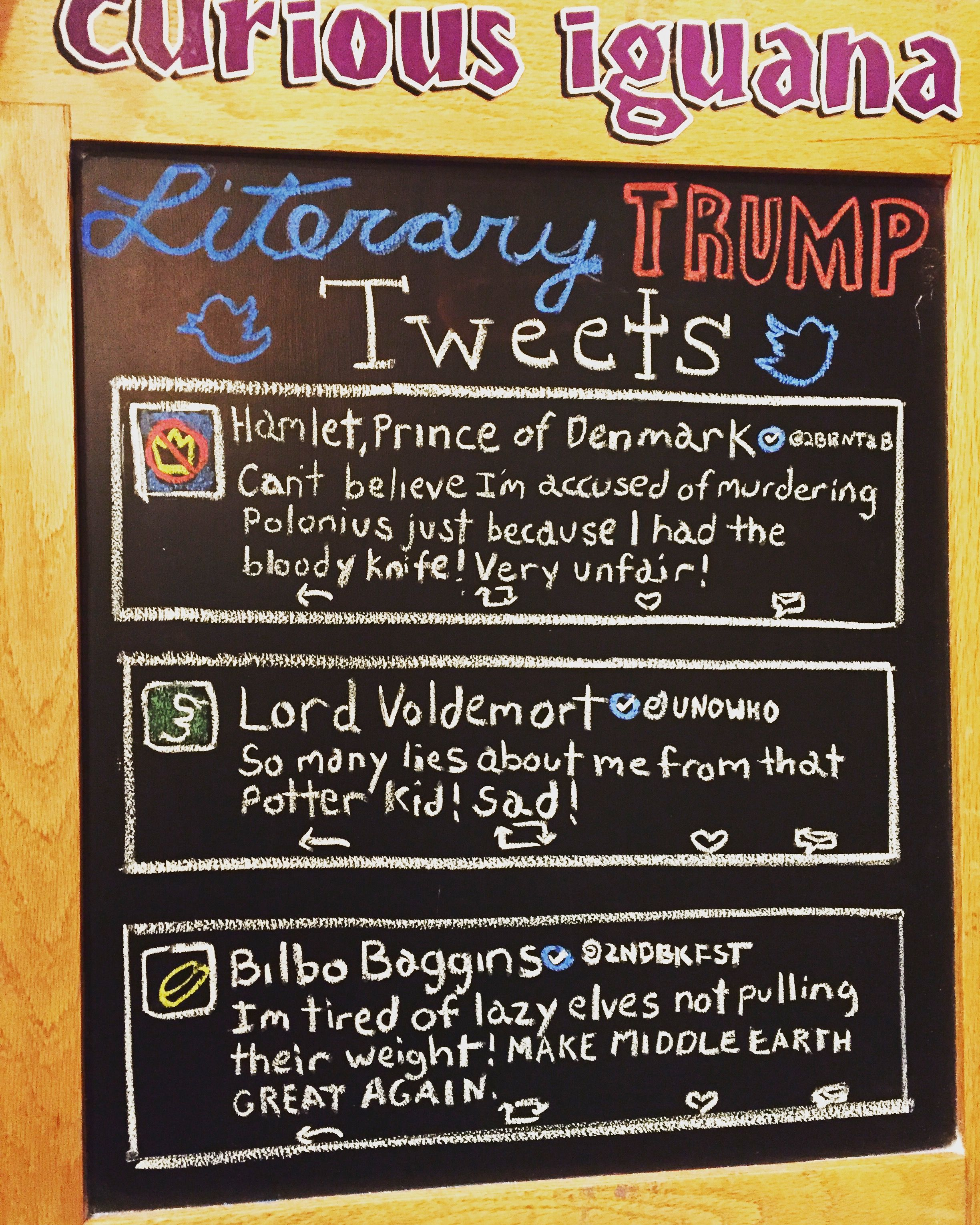 Literary Trump Tweets Library Memes Library Signs Reading Quotes