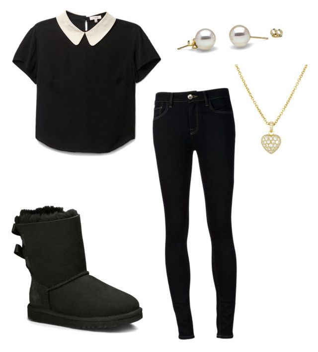 """""""A little outfit :)"""" by tumblrlover18 on Polyvore featuring UGG Australia and Ström"""