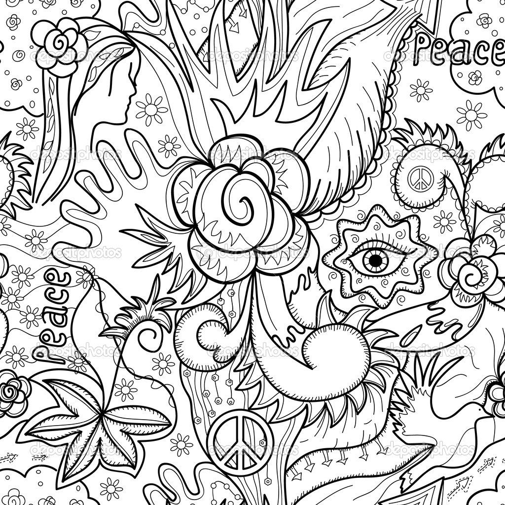Abstract Art Coloring Pages