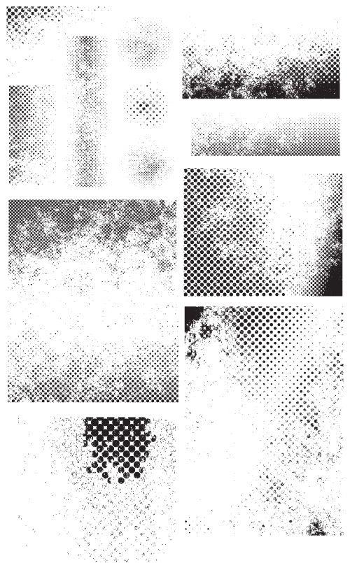 Line Texture Illustrator : Free vectors halftone clean grunge