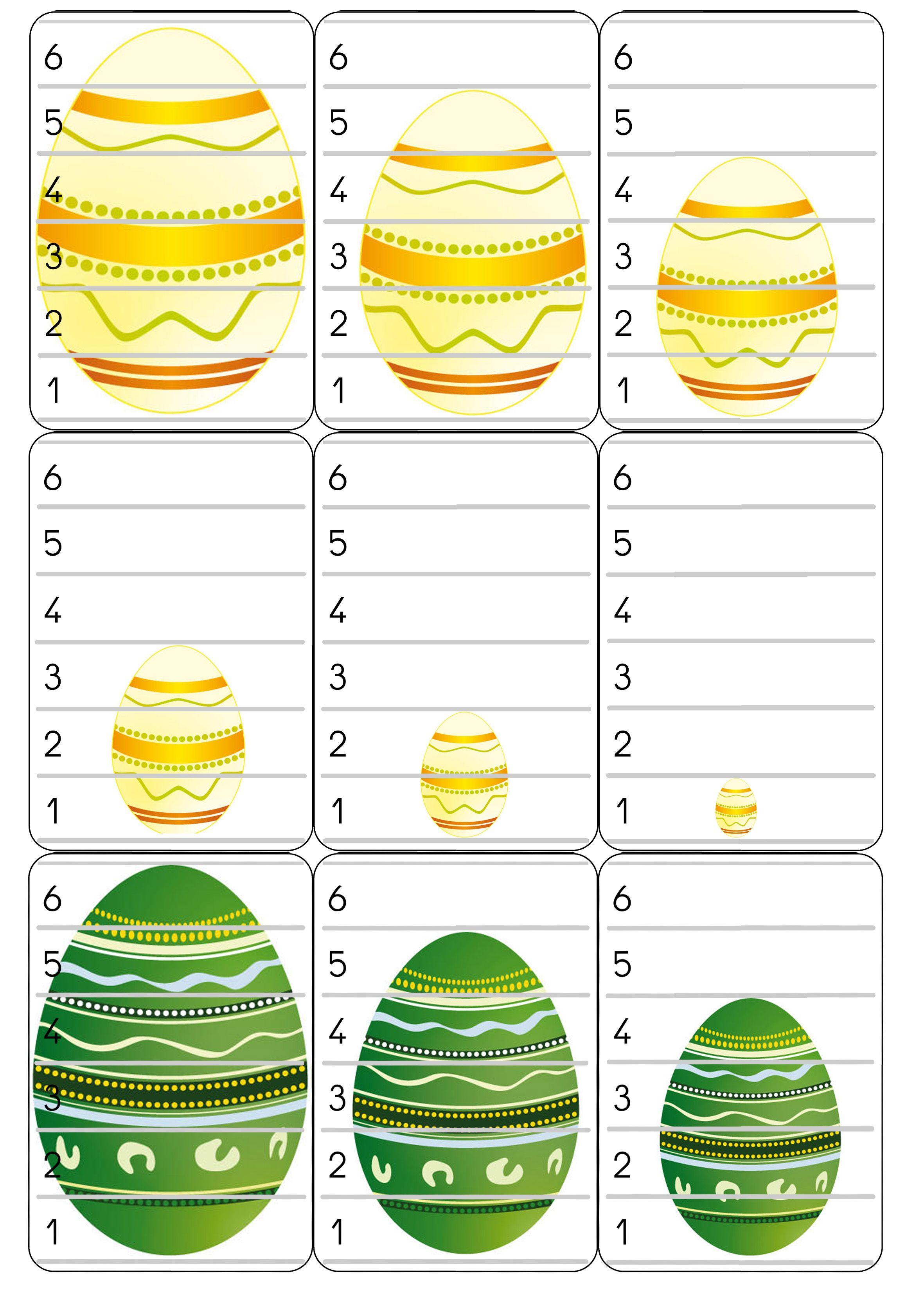 Bataille d 39 oeufs jeux de cartes pinterest maternelle paques activit p ques maternelle et - Oeufs paques maternelle ...