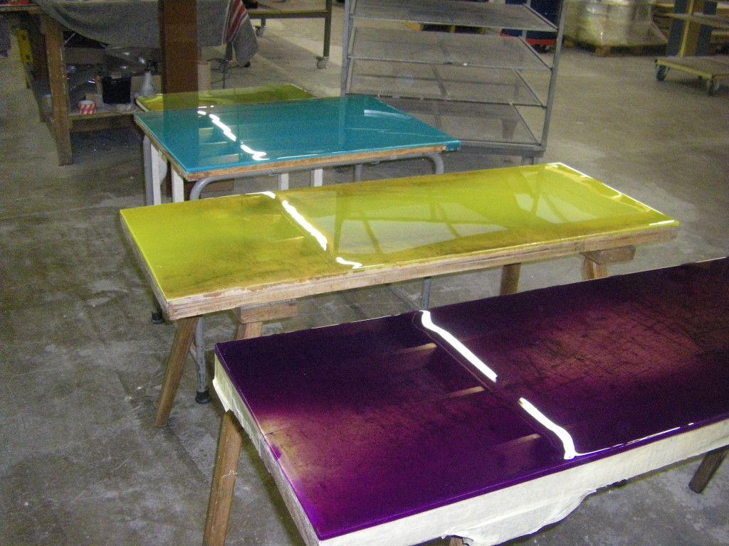 Epoxy Liquid Gloss resin Hars Epoxy resin table, Resin