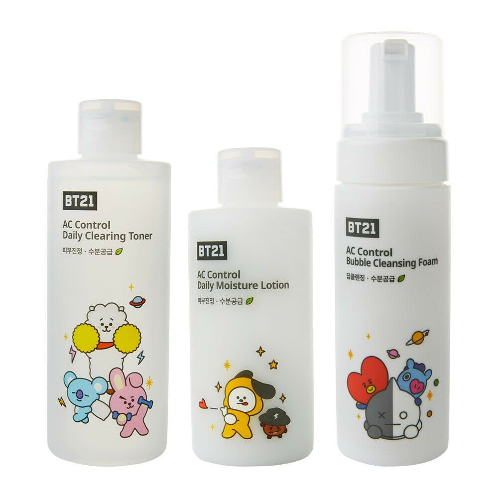 Bt21 X Tn Skin Care Ac Control Daily Clearing Toner Lotion