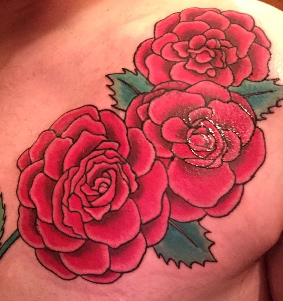 Scarlet Begonias By Ronn True Blue In Queens Ny Best Tattoo Designs Cool Tattoos Tattoos