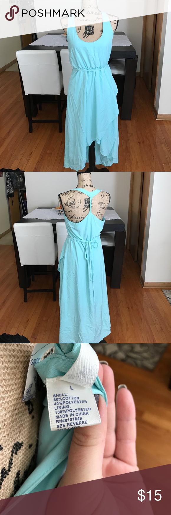 Beautiful summer dress light dress for summerthe front is short