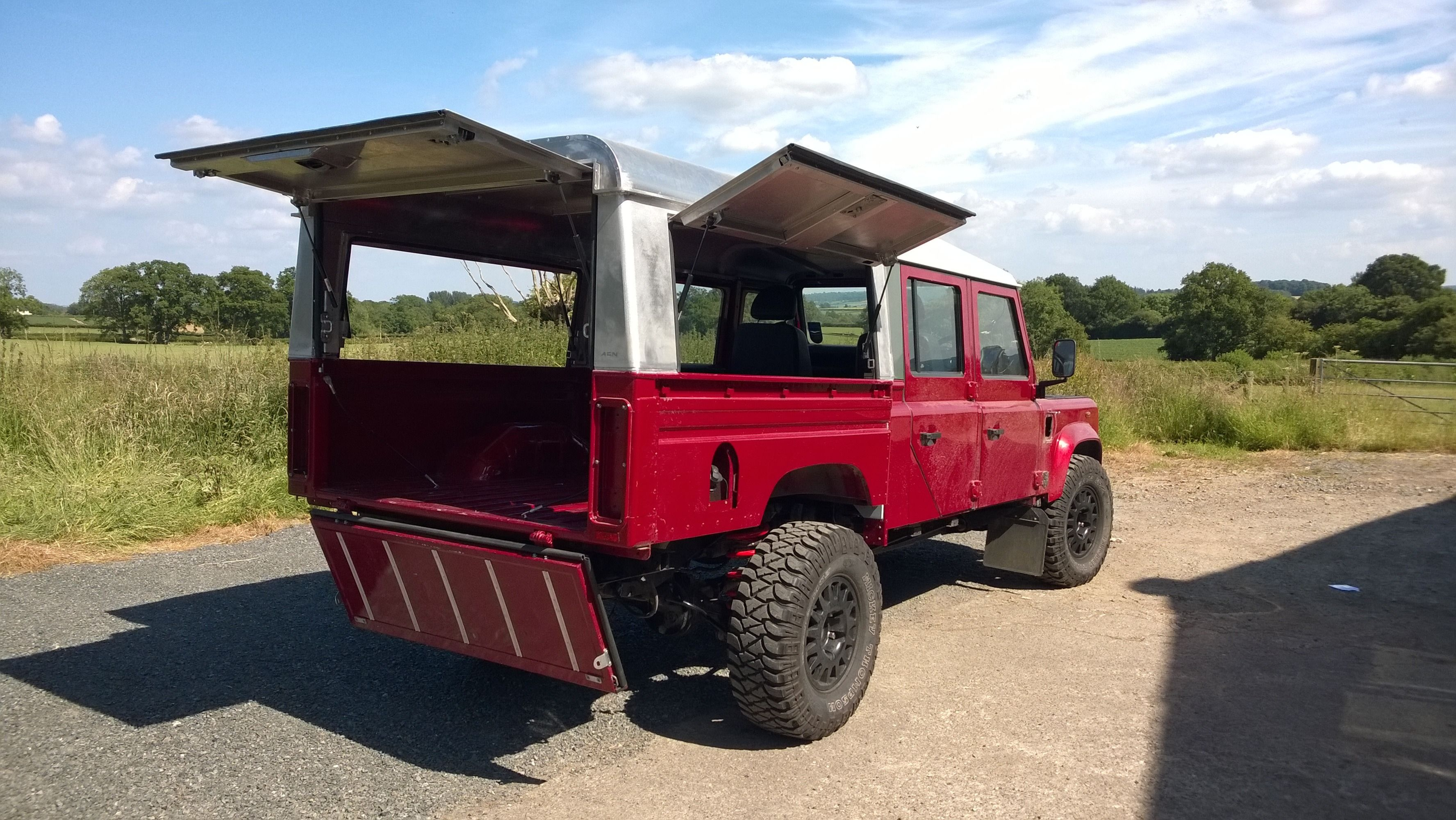 NET - View topic - D130 Canopy question · Land Rover Defender 130Land ... & DEFENDER2.NET - View topic - D130 Canopy question | Overland ideas ...