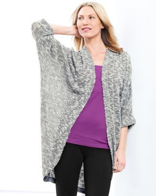e5cd12034bf zinni™ by Garnet Hill Cocoon Cardigan