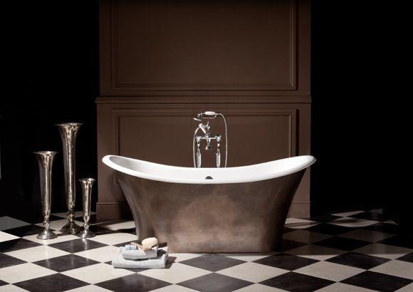 Apollo Double Ended To Floor Bath Tub   Albionu0027s Iso Enamel Material
