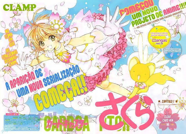 Namae wa...: Sakura Card Captors Clear Card Hen - Mangá Capitulo 01 (Análises)