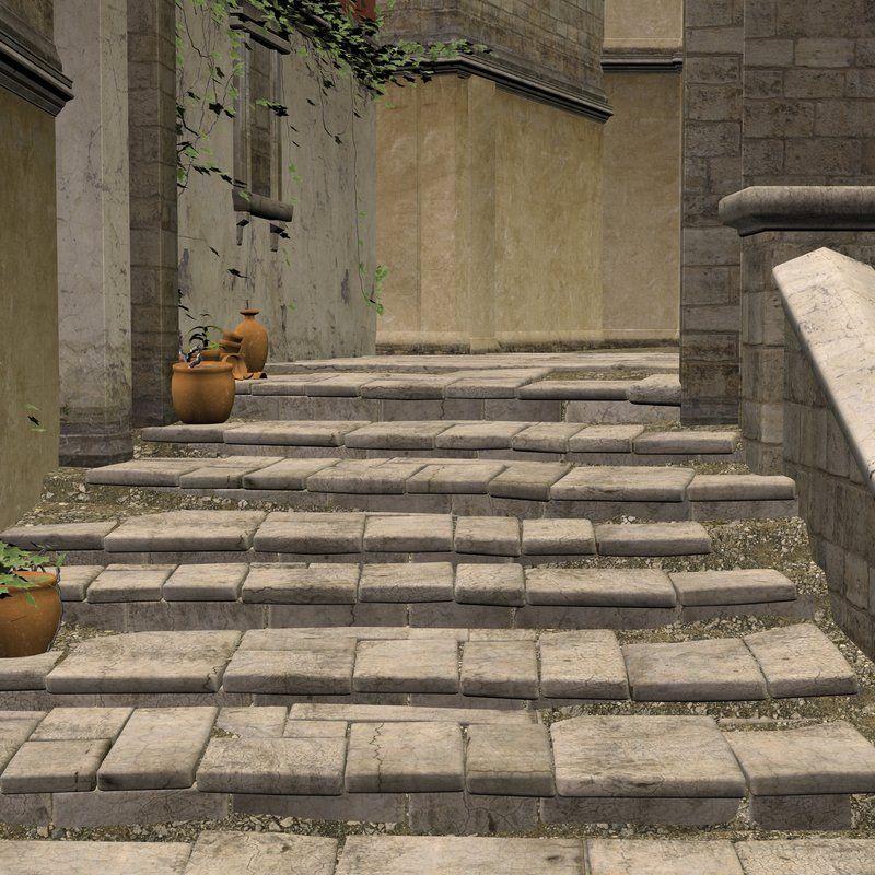 Mediterranean Stairs by indigodeep on deviantART - unrestricted use