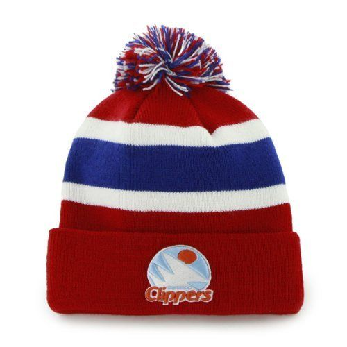 official photos 737f2 f6780 ... low price san diego braves vintage los angeles clippers breakaway pom  beanie cap nba la cuffed