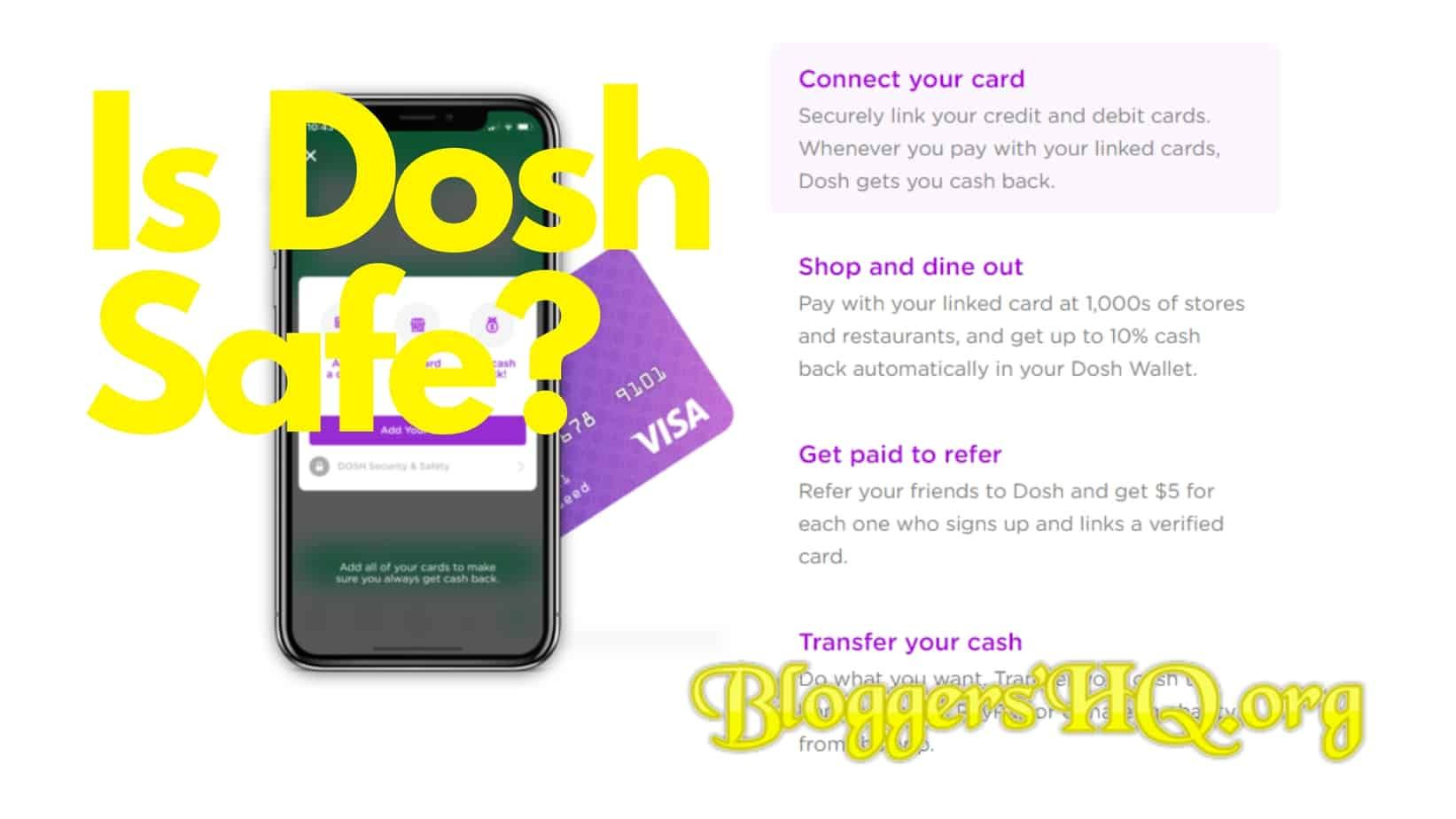 Is Dosh Safe? [Truth Revealed] Advertise your business
