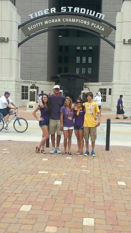 My 1st LSU Game!!!