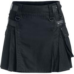 Photo of Black Premium by Emp Kilt Kurzer Rock Black Premium by Empblack Premium by Emp