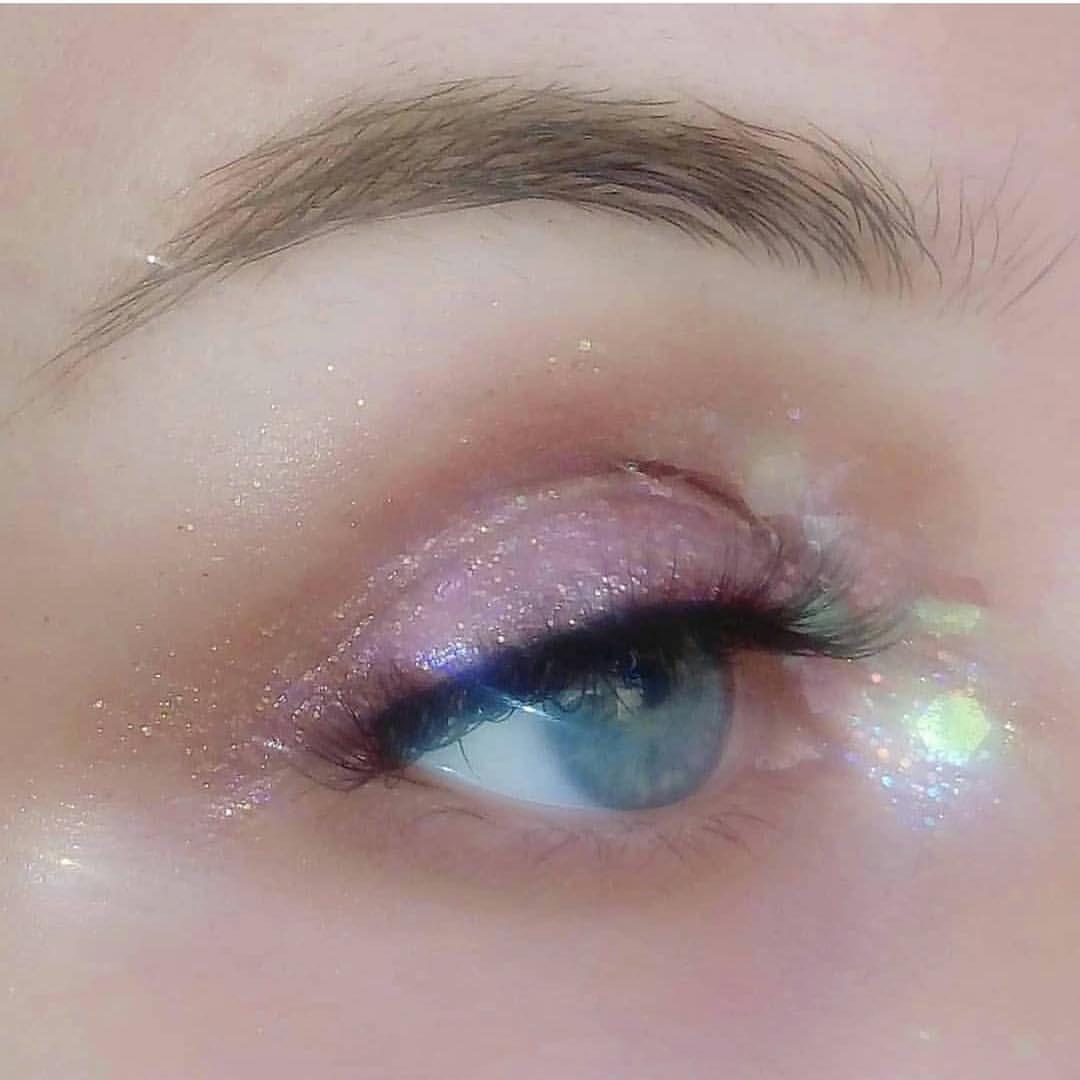 Pin By Marga Saulog On Beauty Duties Pink Glitter Makeup