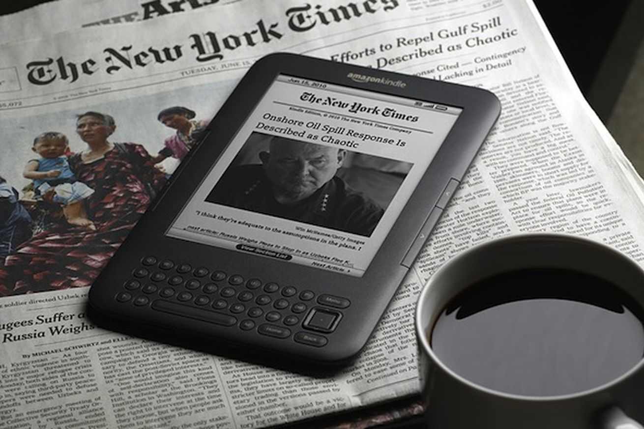 Owners of first and second generation Kindles can't