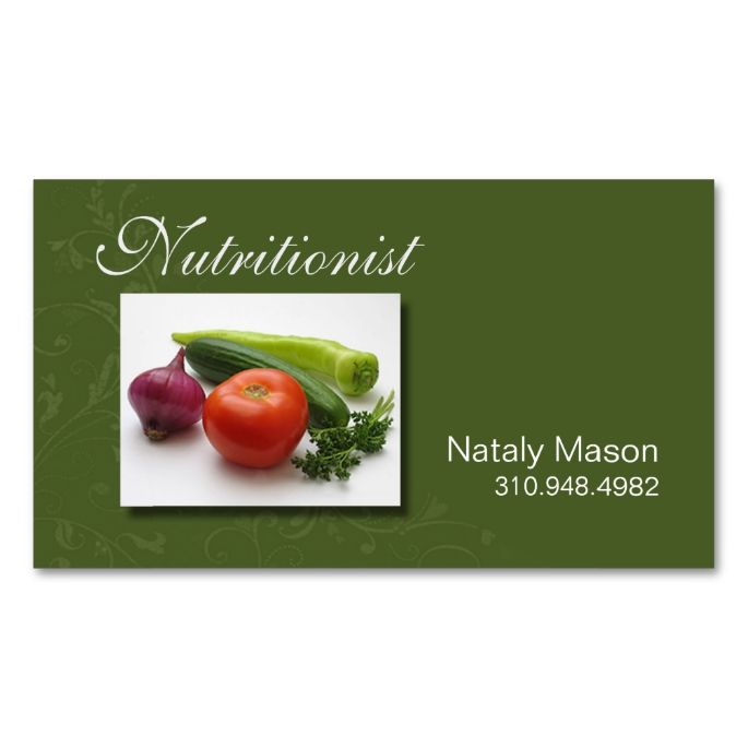 weight loss business cards