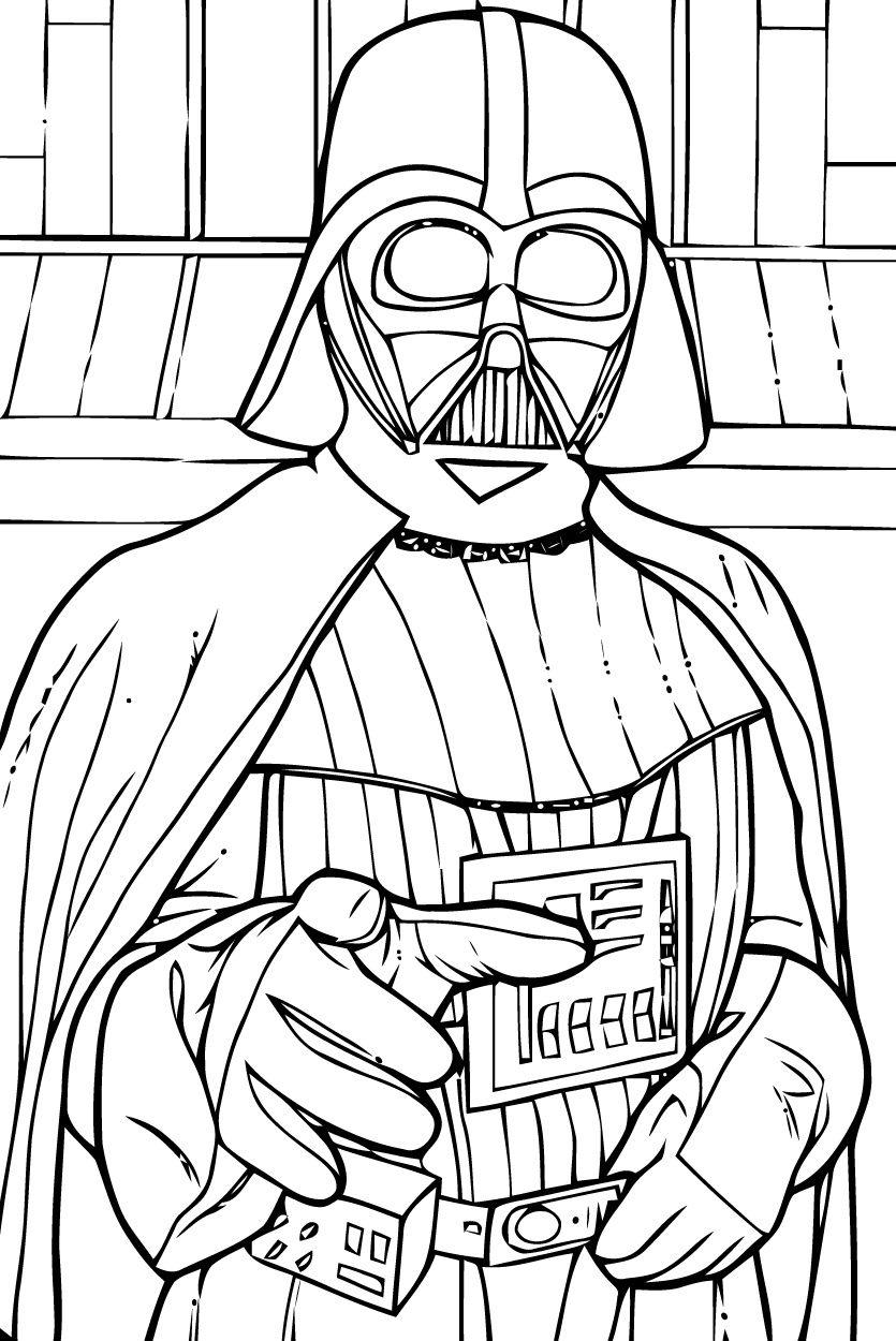 Star Wars Dark Vador Dessin