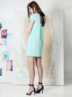 4 collective rose lace dress aqua