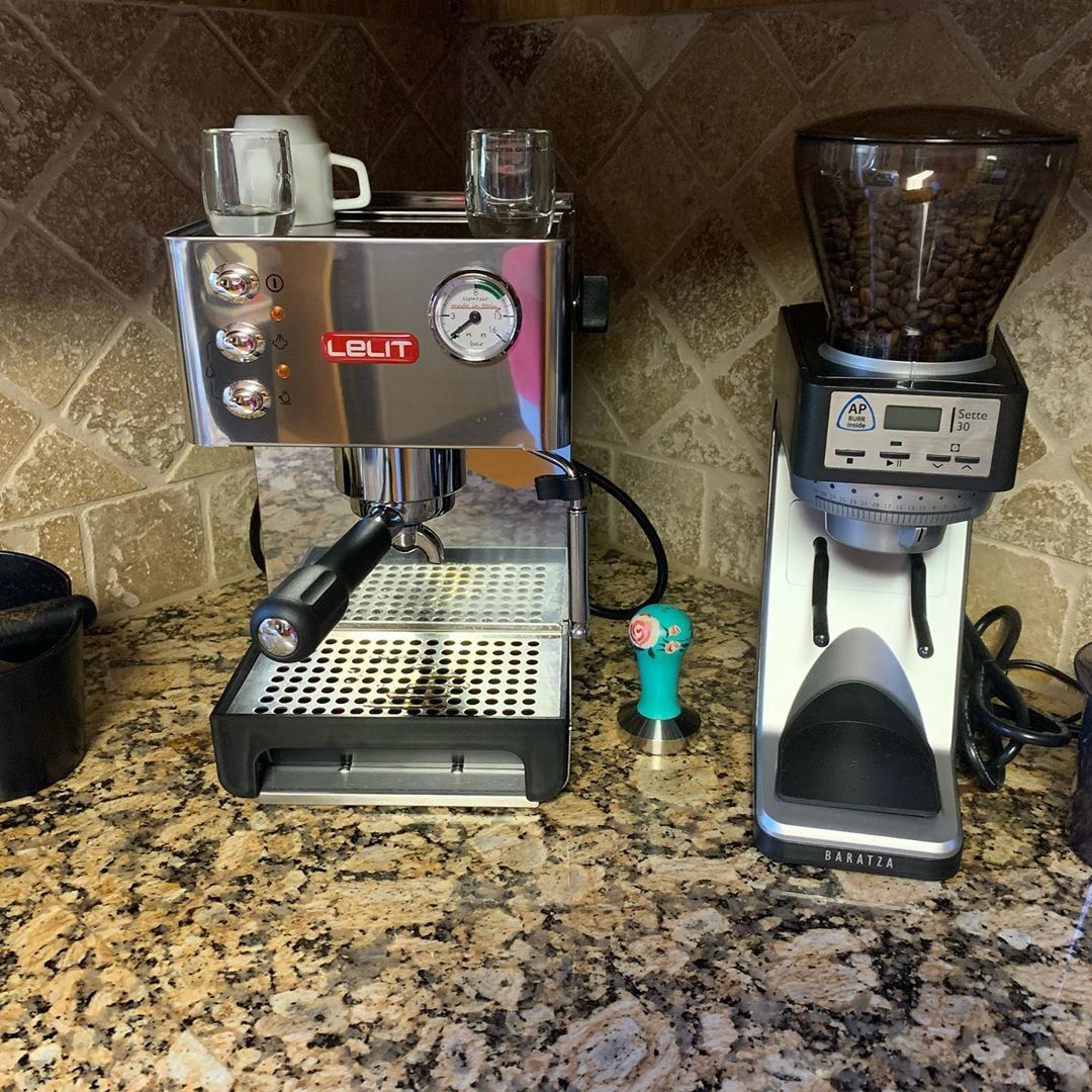 I have been roasting coffee and playing with home espresso equipment for the last 13 years. My mom and dad just pulled the trigger on their first home setup. If you have questions about creating your own coffee bar at home give me a call. I am happy to help out in any way I can.  #espresso #baratza  #coffee #coffeebreak #columbian  #coffeelover #coffeegram #coffeemug #specialtycoffee #coffeesesh #espressomachine  #coffeeshop #specialtycoffee #millcityroasters #jacksontn #espressoathome I have be #espressoathome