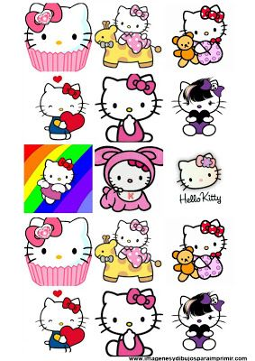 Stickers De Hello Kitty Para Imprimir Hello Kitty Hello Kitty