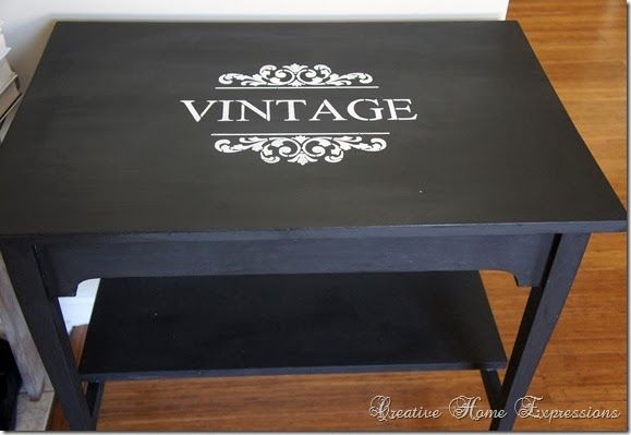 Table Makeover : Creative Home Expressions