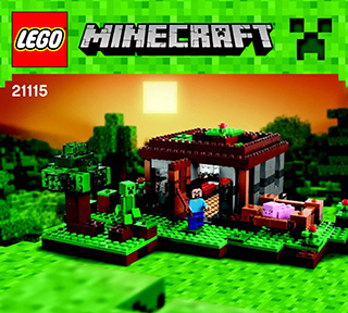 Lego Minecraft Building Instructions Legocom Lego