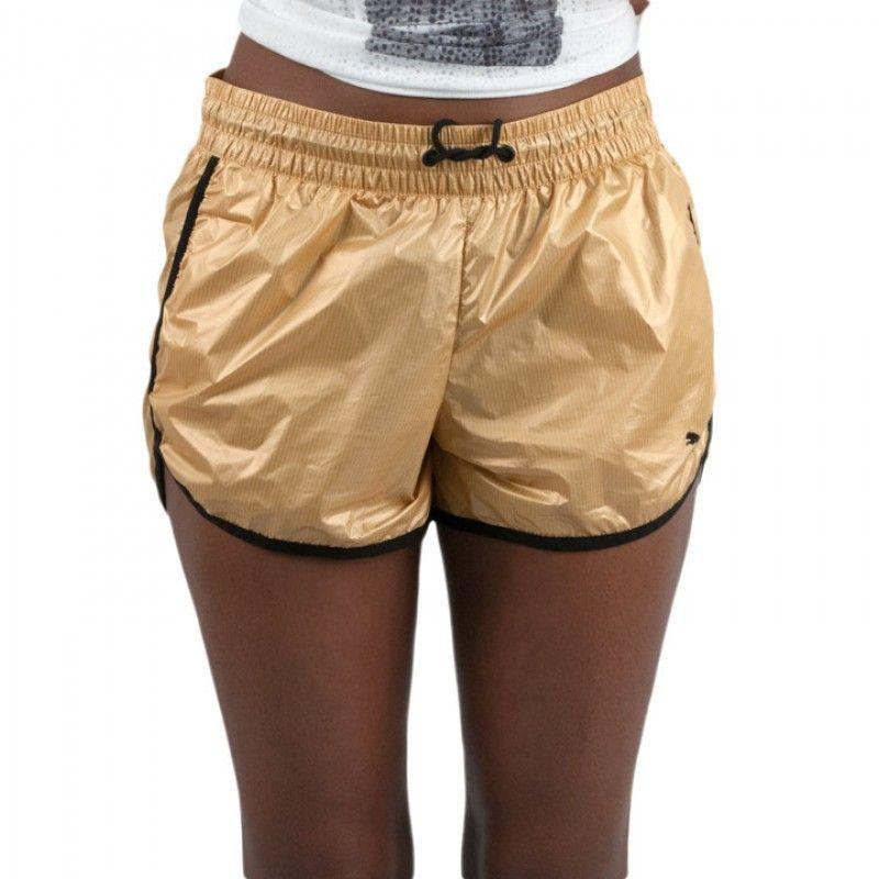 puma gold shorts