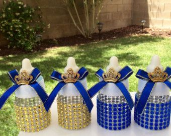 12 royal blue baby shower favors little by