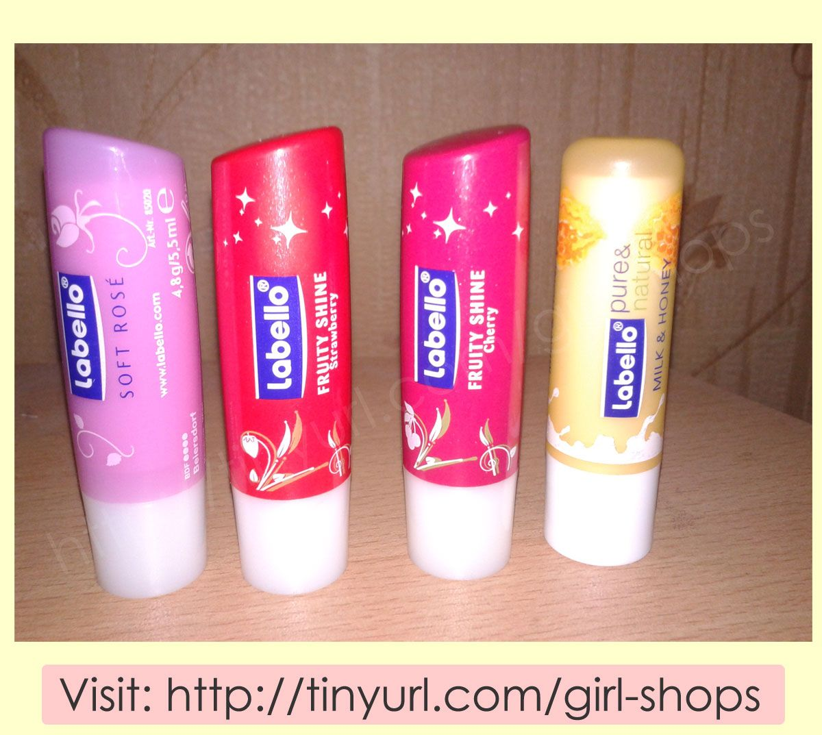 Labello The balm, Lip balm, Pure products