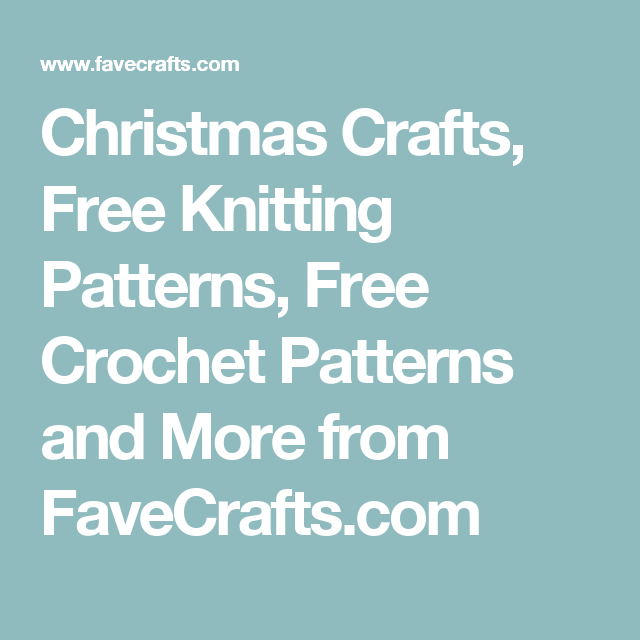 1000s of Free Craft Projects, Patterns, and More | Pinterest | Bordado