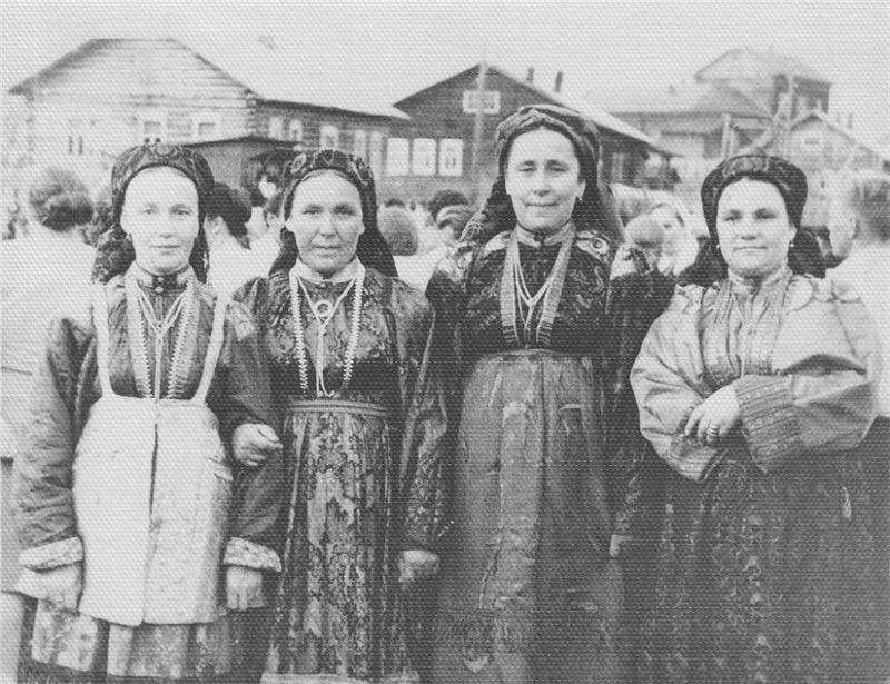 Усть-Цильма. Поморские старообрядцы.