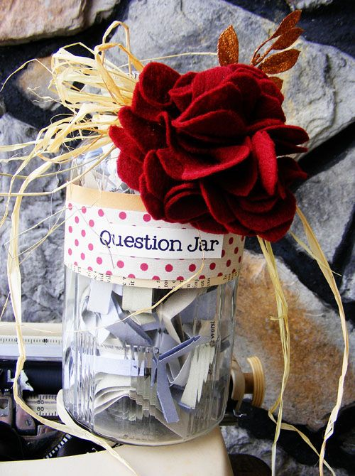 Question Jar - wedding/anniversary gift?
