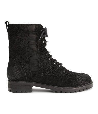H&M Suede Boots $99
