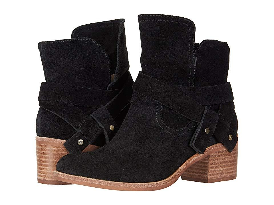 UGG Elora Women's Boots Black 1 | Womens black booties