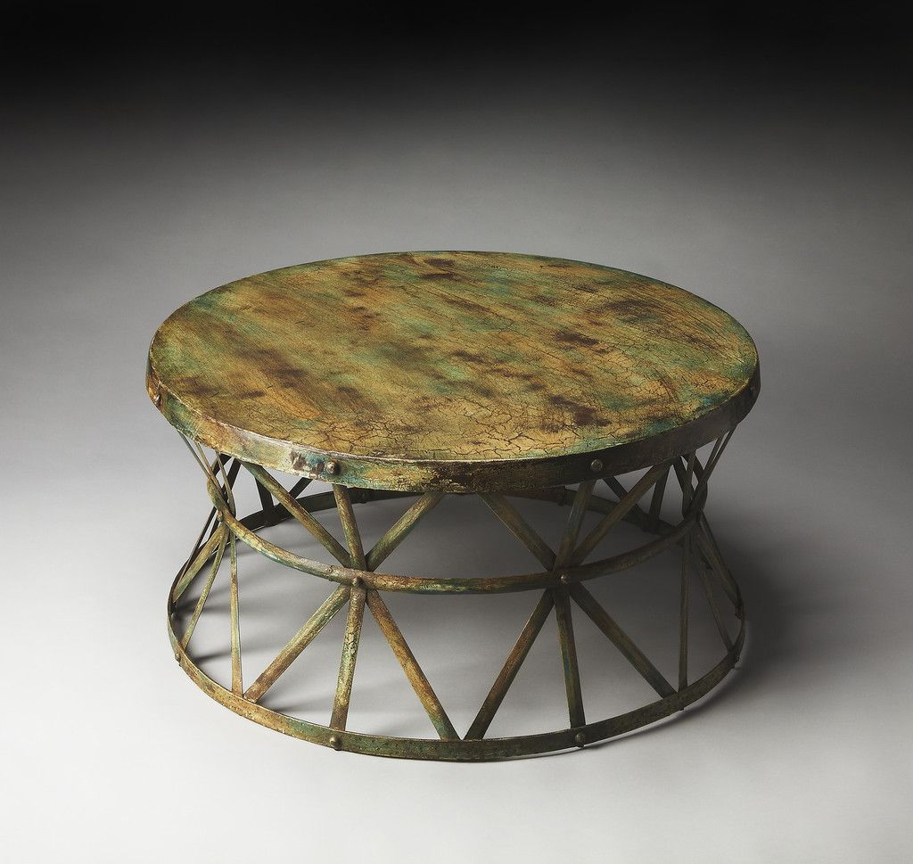 Butler Duncan Painted Iron Cocktail Table Model