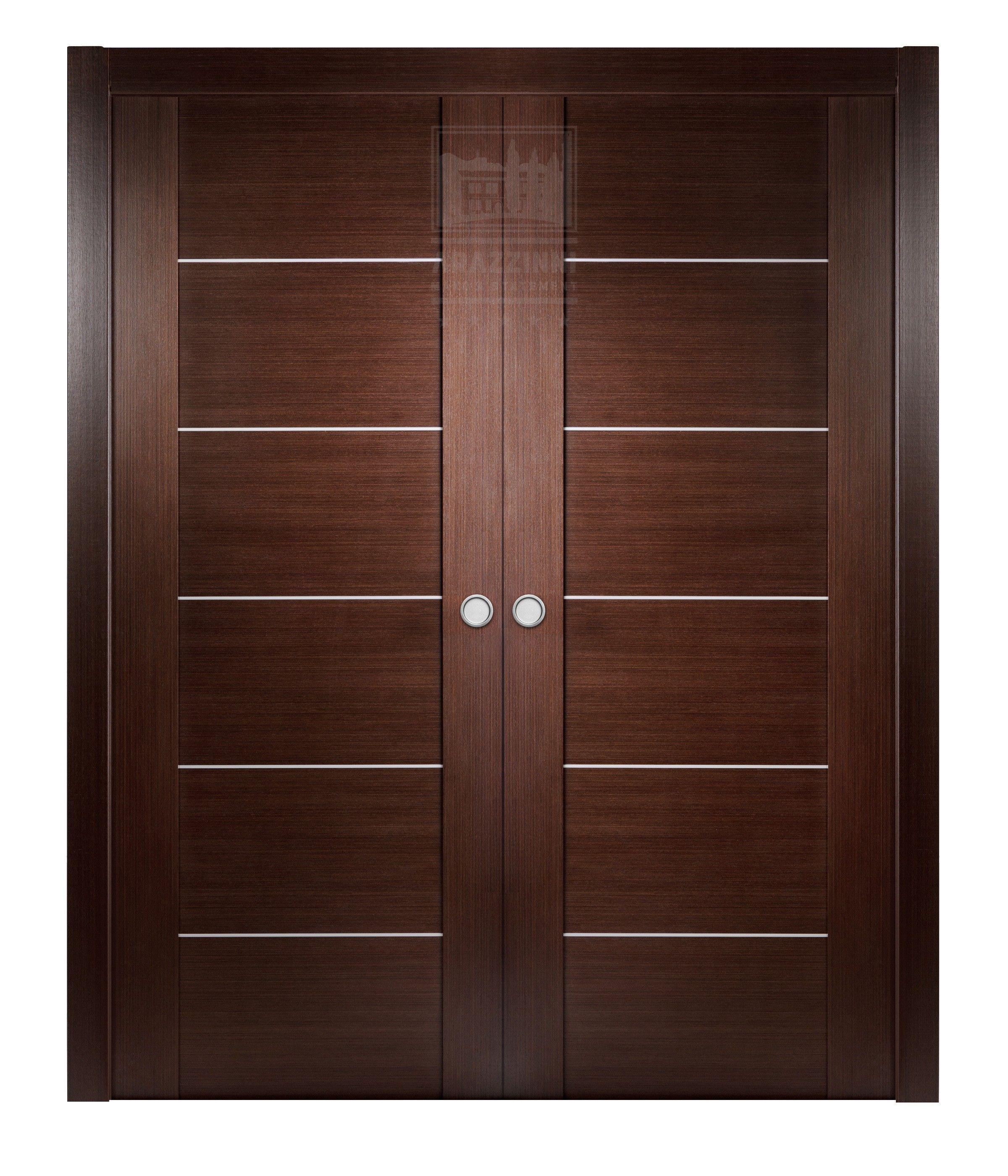 Arazzinni Maximum 201 Interior Double Pocket Door Wenge