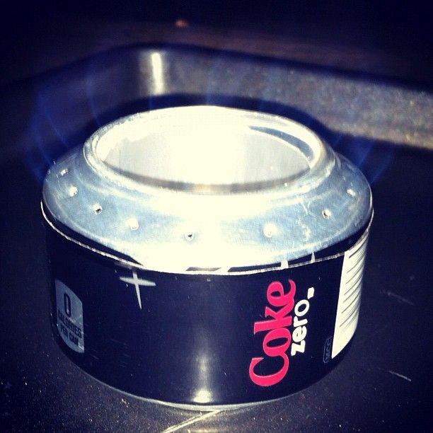 DIY Ultralight Backpacking Stove Why Didn't I Think Of