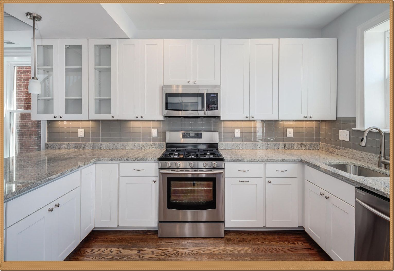 - Kitchen Backsplash Ideas With White Cabinets: Food For Thought