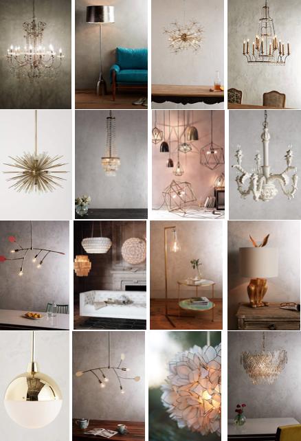 Lighting: Lamps, Pendants, Chandeliers