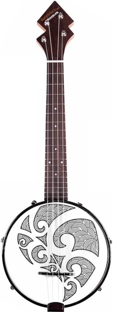 Sidekick Tenor Banjolele #LardysUkuleleOfTheDay #Ukulele ~ https://www.pinterest.com/lardyfatboy/lardys-ukulele-of-the-day/ ~