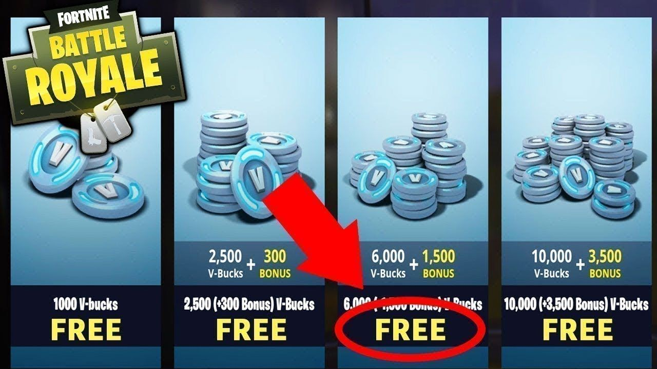 how to get free v bucks hack
