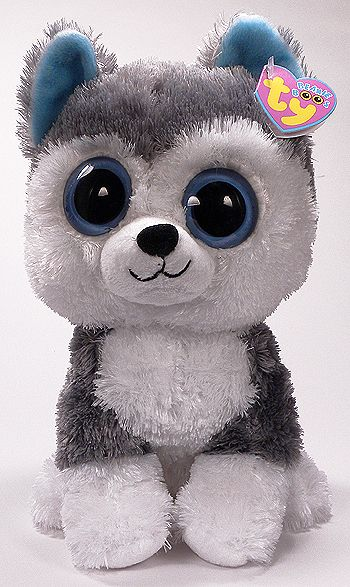Slush (medium) - husky dog - Beanie Boo Buddies  80c43ea75333
