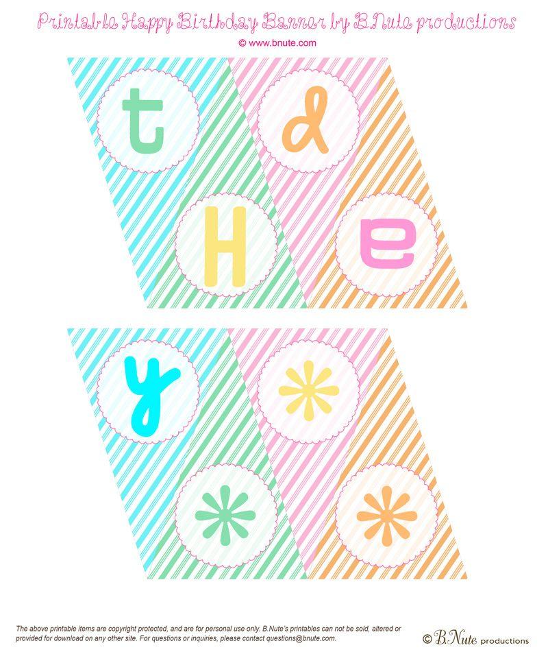 free happy birthday banners